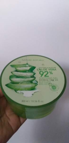 Nature Republic Aloe Vera Soothing Gel Review Soco By Sociolla