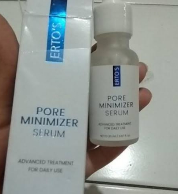 Erto S Pore Minimizer Serum Review Soco By Sociolla Situs
